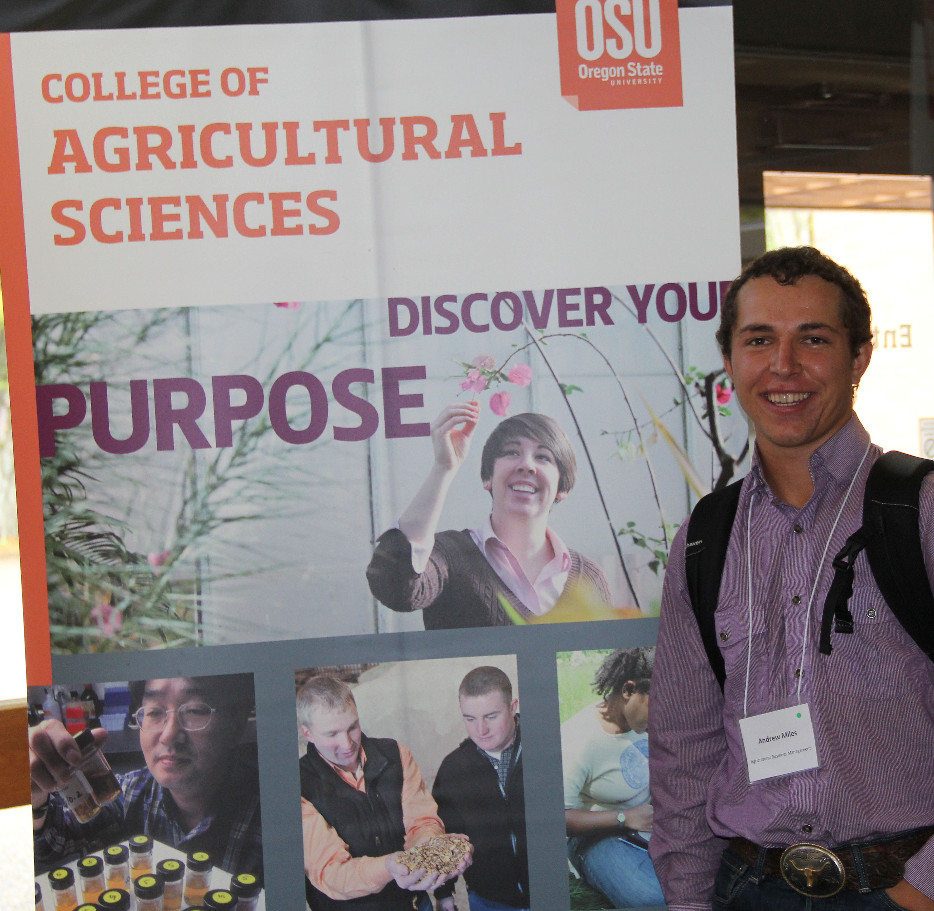 Student at Experiential Expo