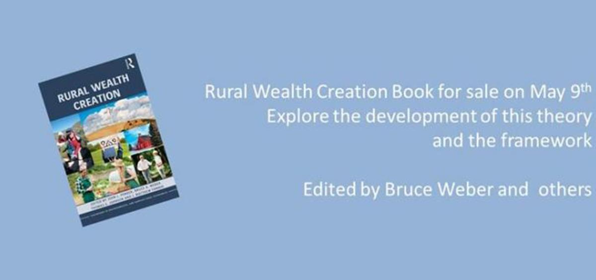 Bruce Weber and others release book Rural Wealth Creation header image