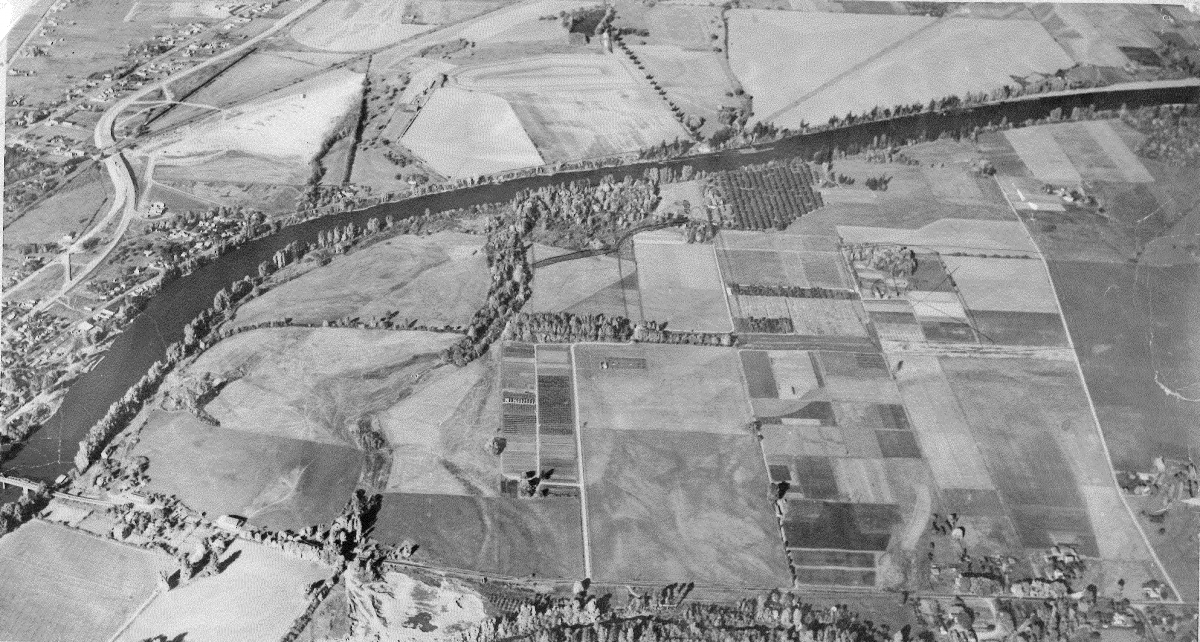 1953 Aerial Maps u0026 Directions College