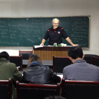 David Hannaway in China