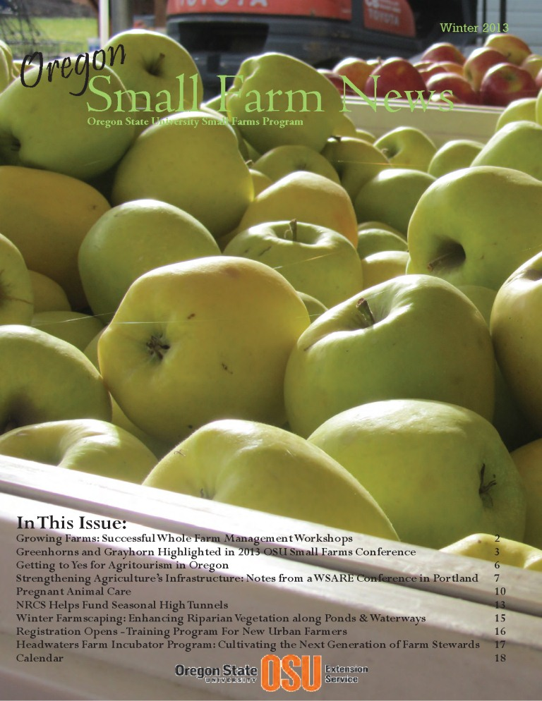Small Farm Newsletter