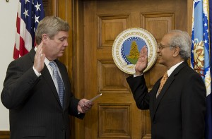 Swearing in Sonny Ramaswamy