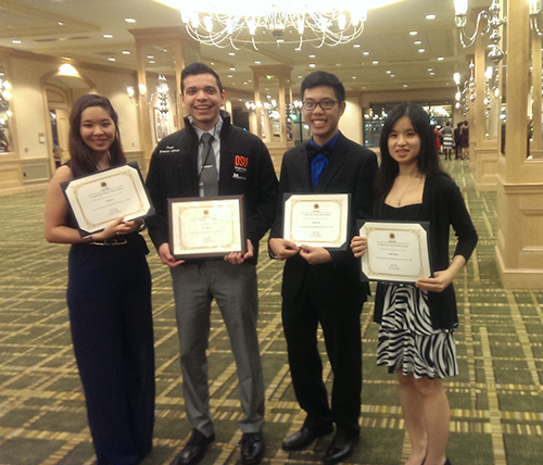 2016 MANRRS conference Award Winners