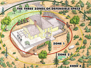 Home defense zones