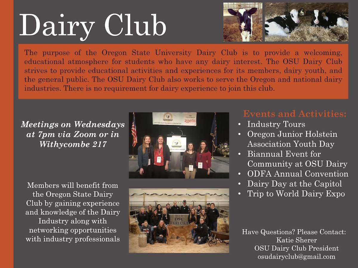 Dairy Club Winter 21