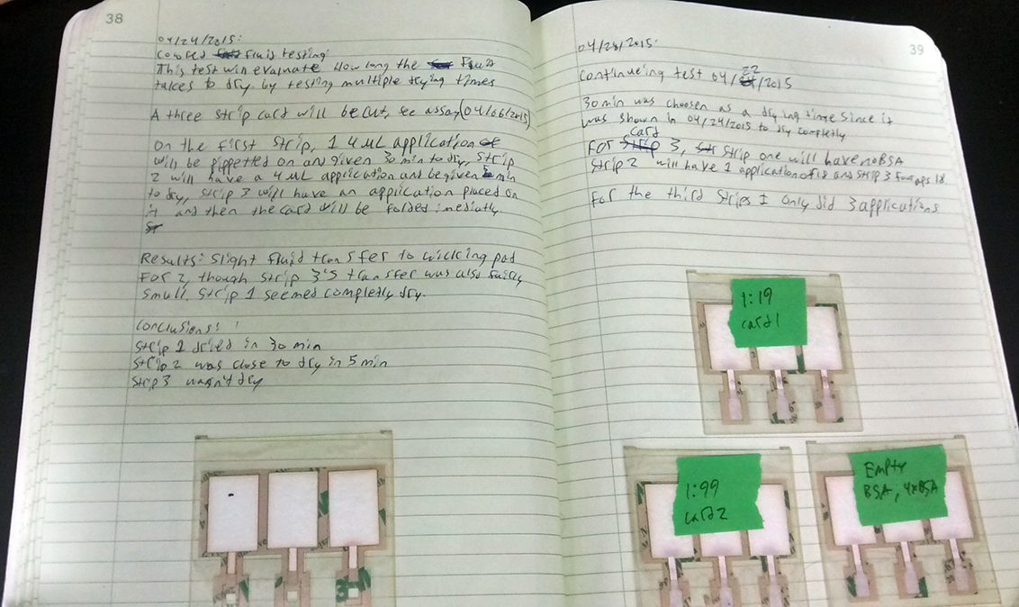 Lab Notebook College Of Agricultural Sciences Oregon
