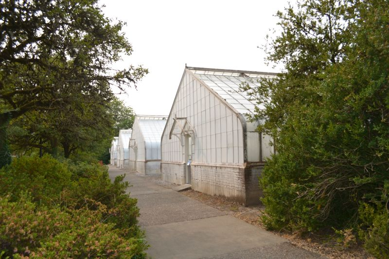 Exterior of the East Greenhouse