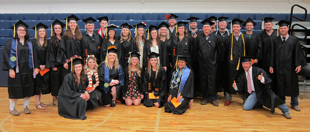 2017 Graduates of OSU at EOU Ag and Natural Resources Program