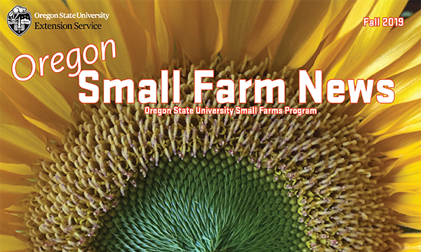 Oregon Small Farm News Fall 2019