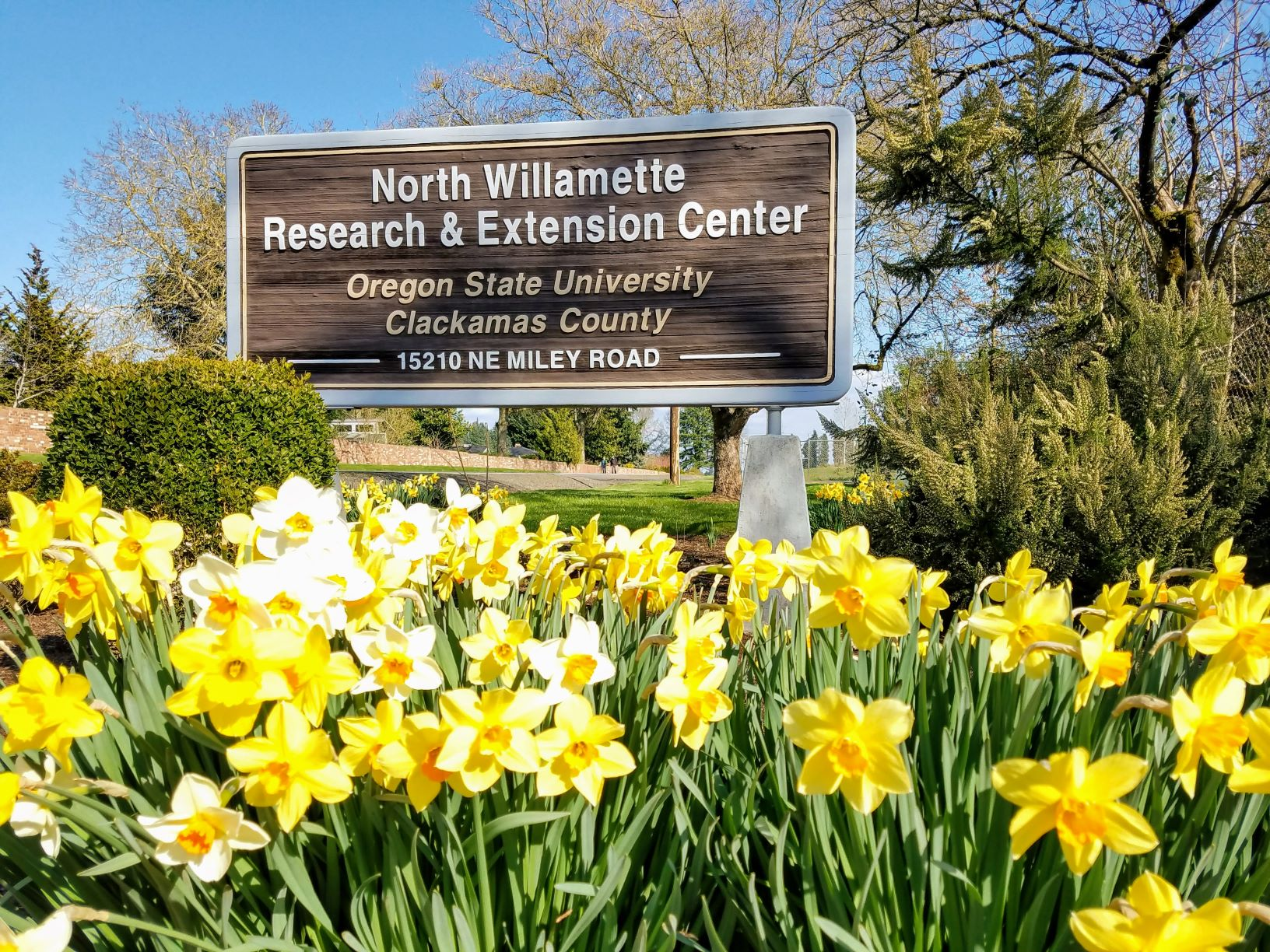 Entrance sign to NWREC