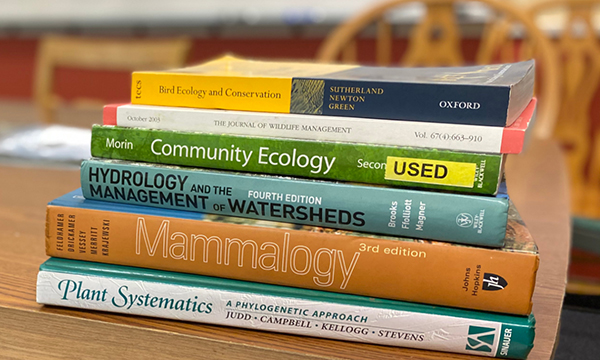 Fish and Wildlife textbooks