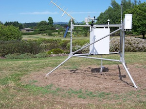 Weather Instrument at Hebe Plot