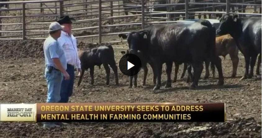 Oregon State University looks to help address mental health in farming, ranching
