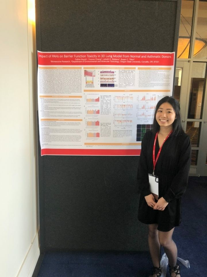Celine Huynh's research poster