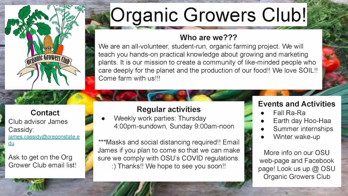 Organic Growers Club