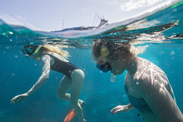 Snorkeling the Great Barrier Reef in Australia