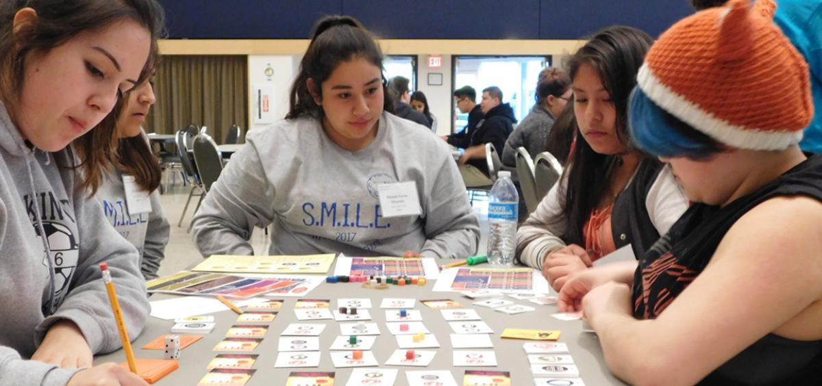 SMILE h.s. students play at Challenge event