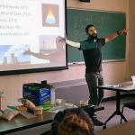 Jay Well, Bioenergy and SMILE program coordinator gives bioenergy lecture