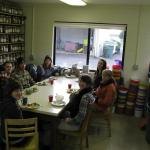 Potluck lunch with the Hazelnut Group