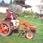 '47 G tractor with Culitvator