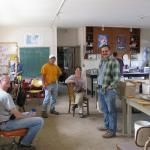 Farm crew in the lab. Photo courtesy of: Randy Hopson