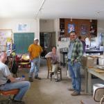 Farm crew in the lab. Photo courtesy of: Randy Hopson