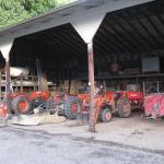 Equipment Barn. Photo courtesy of: Randy Hopson
