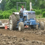Working the Ground. Photo courtesy of: Randy Hopson