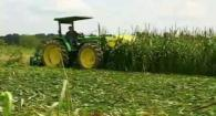 Organic High Residue Reduced-Till Roller Crimper: Weed Em and Reap