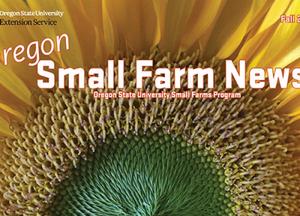Oregon Small Farm News - Fall 2019