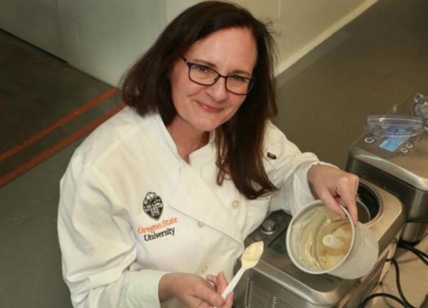 sarah masoni making ice cream