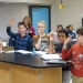 Jay Wells presents bioenergy lessons to third graders in Hillsboro