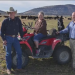 Jim Chapman and his family on his ranch