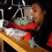 OSU's Maryam Kamran is conducting research on salmon olfactory homing in an effort to prevent hatchery fish on the Elk River from straying.