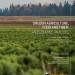 Oregon Agriculture Food and Fiber: An Economic Analysis
