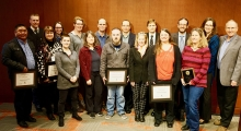 2018 Faculty and Staff Award Recipients