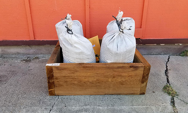 Each garden box kit includes a raised garden box, bags of soil, vegetable seeds, marigold plants, OSU Extension Food Hero vegetable informational sheets, recipes and youth coloring pages.